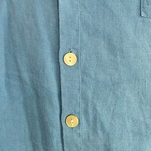 Flax Tops - Petite Flax long sleeve linen shirt